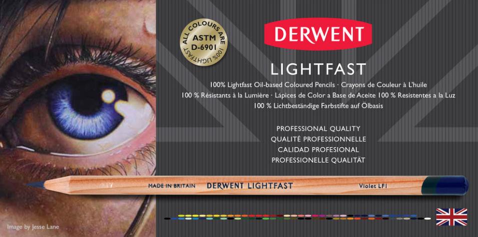 Derwent-Lightfast-Potloden