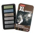 Derwent-XL-Grafiet-set-met-6-blokken