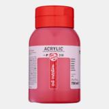 Karmijn Acrylverf van Art Creation 750 ml Kleur 318_5
