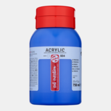 Ultramarijn Acrylverf van Art Creation 750 ml Kleur 504_5