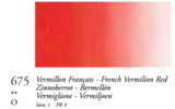 Vermiljoenrood Frans (Serie 1) Oil Stick van Sennelier 38 ML Kleur 675_5