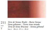 Sienna Gebrand (Serie 2) Oil Stick van Sennelier 38 ML Kleur 211_5