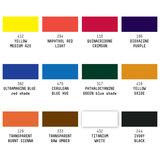 Essentials set Soft Body Liquitex Professional 12 x 22 ml Set 321_5