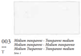 Transparant Medium (Serie 1) Oil Stick van Sennelier 38 ML Kleur 003_5