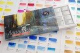 Pasqualino Fracasso Set Aquarius 24 hele napjes Aquarelverf van Roman Szmal Set 14 open geschoven