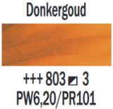 Donkergoud  Rembrandt Olieverf Royal Talens 40 ML (Serie 3) Kleur 803_6