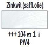 Zinkwit  Rembrandt Olieverf Royal Talens 60 ML (Serie 1) Kleur 104_5