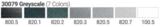 PanPastel Pearl Grey Scale Starter set Set 79_5