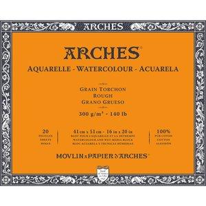 41x51cm Grain Tochon / Rough Aquarelblok van Arches® 100 % Katoen 300g/m²