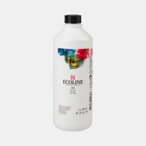 Wit Ecoline fles 490 ml van Talens Kleur 100