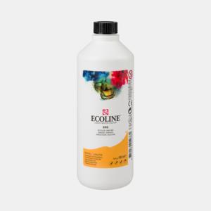 Donkergeel Ecoline fles 490 ml van Talens Kleur 202