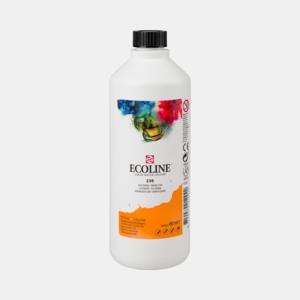 Lichtoranje Ecoline fles 490 ml van Talens Kleur 236