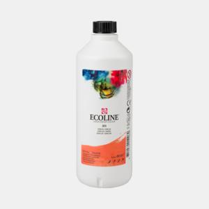 Vermiljoen Ecoline fles 490 ml van Talens Kleur 311