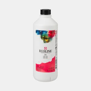 Karmijn Ecoline fles 490 ml van Talens Kleur 318