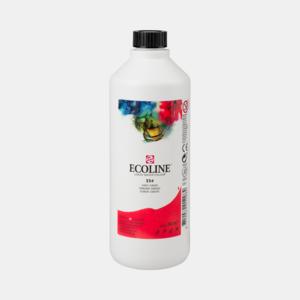 Scharlaken Ecoline fles 490 ml van Talens Kleur 334