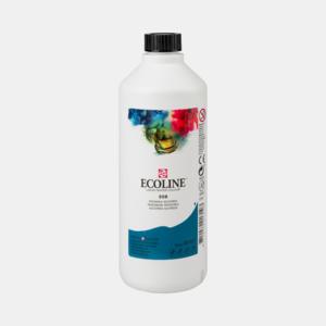 Pruisischblauw Ecoline fles 490 ml van Talens Kleur 508