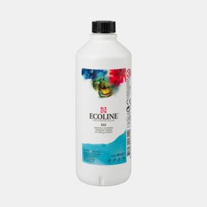 Turkooisblauw Ecoline fles 490 ml van Talens Kleur 522