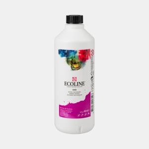 Roodviolet Ecoline fles 490 ml van Talens Kleur 545