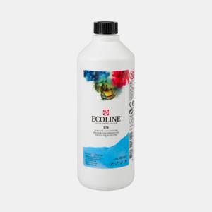 Hemelsblauw Ecoline fles 490 ml van Talens Kleur 578