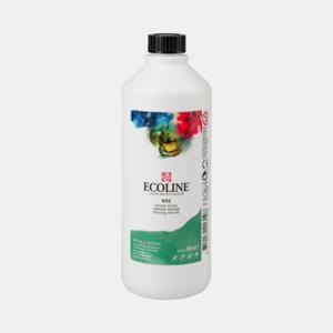 Donkergroen Ecoline fles 490 ml van Talens Kleur 602