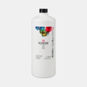 Wit Ecoline fles 990 ml van Talens Kleur 100