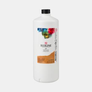 Gele Oker Ecoline fles 990 ml van Talens Kleur 227