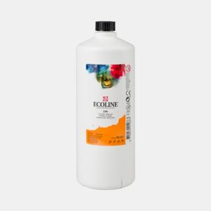 Lichtoranje Ecoline fles 990 ml van Talens Kleur 236