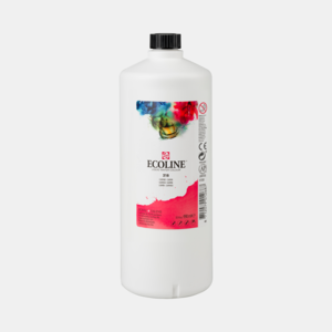 Karmijn Ecoline fles 990 ml van Talens Kleur 318