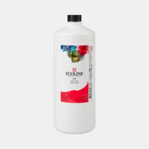 Scharlaken Ecoline fles 990 ml van Talens Kleur 334
