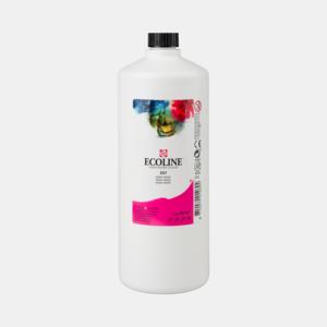 Magenta Ecoline fles 990 ml van Talens Kleur 337