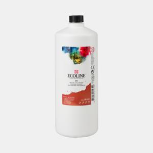Sienna Gebrand Ecoline fles 990 ml van Talens Kleur 411