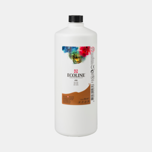 Sepia Ecoline fles 990 ml van Talens Kleur 416