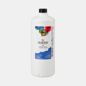 Ultramarijn Donker Ecoline fles 990 ml van Talens Kleur 506
