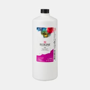 Roodviolet Ecoline fles 990 ml van Talens Kleur 545
