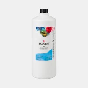 Hemelsblauw Ecoline fles 990 ml van Talens Kleur 578