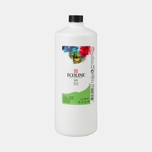 Groen Ecoline fles 990 ml van Talens Kleur 600