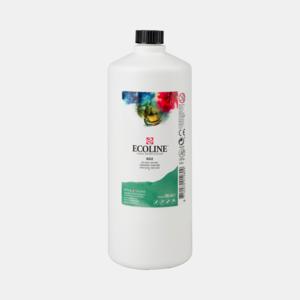Donkergroen Ecoline fles 990 ml van Talens Kleur 602