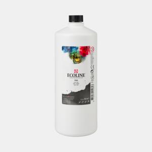 Zwart Ecoline fles 990 ml van Talens Kleur 700