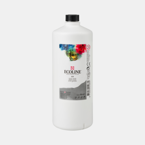 Koudgrijs Ecoline fles 990 ml van Talens Kleur 717