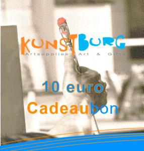 Kunstburg Cadeaubon voor 10 euro