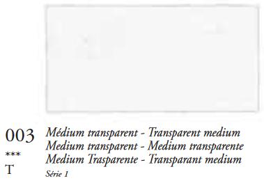 Transparant Medium (Serie 1) Oil Stick van Sennelier 38 ML Kleur 003