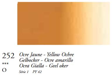 Gele Oker (Serie 1) Oil Stick van Sennelier 38 ML Kleur 252
