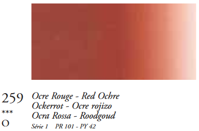 Rode Oker (Serie 1) Oil Stick van Sennelier 38 ML Kleur 259