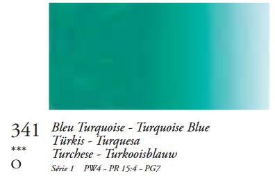 Turkoois (Serie 1) Oil Stick van Sennelier 38 ML Kleur 341