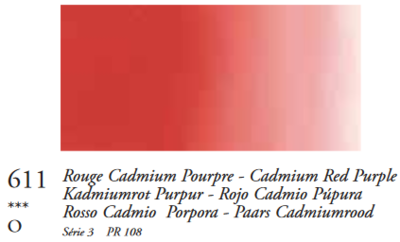 Cadmiumrood Purper (Serie 3) Oil Stick van Sennelier 38 ML Kleur 611