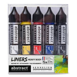 Abstract Liner set 5 x 27 ml Sennelier   Set 350