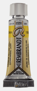 Cadmiumgeel Licht Rembrand Aquarelverf van Talens 5 ml Kleur 208