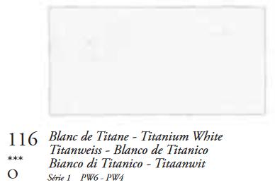 Titaanwit (Serie 1) Oil Stick van Sennelier 38 ML Kleur 116