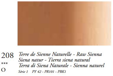 Sienna Naturel (Serie 1) Oil Stick van Sennelier 38 ML Kleur 208