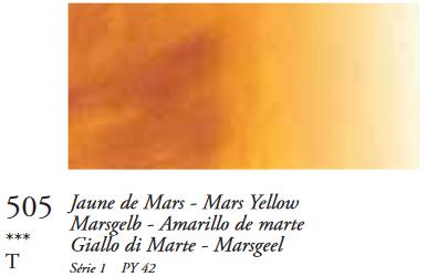Marsgeel (Serie 1) Oil Stick van Sennelier 38 ML Kleur 505